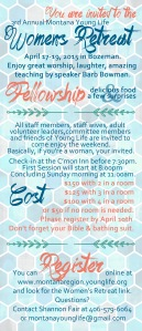 womens retreat invitation